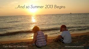 2013 summer begins
