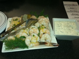 Shrimp with Meyer Lemon Dip
